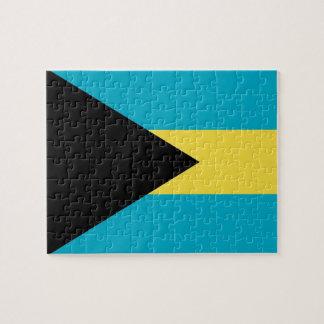 Pussel med flagga av Bahamas