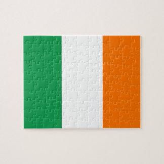 Pussel med flagga av Irland