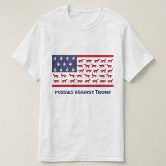 Pussies mot trumfT-tröja Tshirts