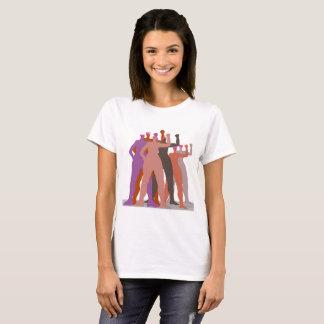 Pussyhat kvinnastativ tillsammans tröja