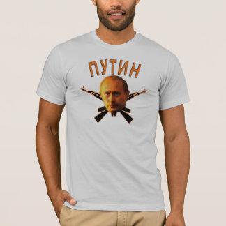 Putin med korsade AKs (tända), Tee Shirt