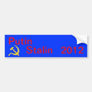 Putin Stalin 2012 Bildekal
