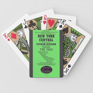 Putnam för New York centraljärnväg uppdelning Spelkort