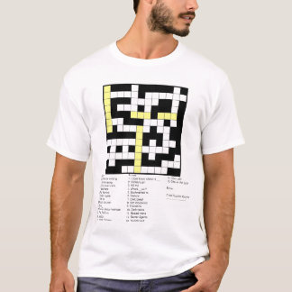 Puzzlersmotto Tee Shirt