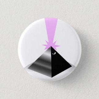 pyramid mini knapp rund 3.2 cm