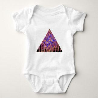 PYRAMIDblåttlilor T-shirts
