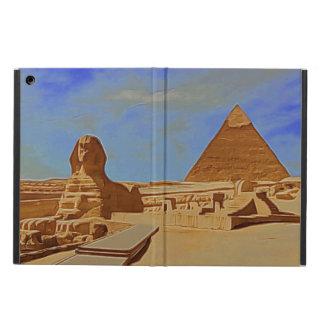 Pyramider och sphinxen fodral för iPad air