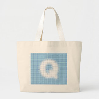 Q-Monogram Tote Bags