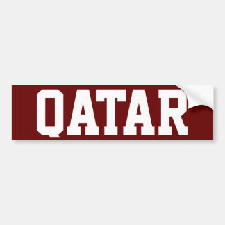 Qatar Bildekal