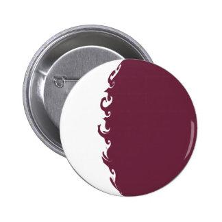 Qatarisk Gnarly flagga Nål