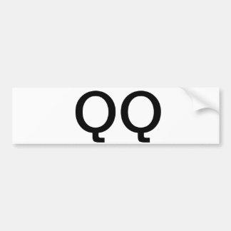 QQ-bildekal Bildekal