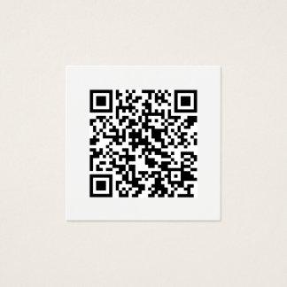 QR kodifierar modernt minsta socialt massmedia Fyrkantigt Visitkort