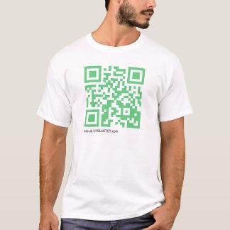 QRBlaster QRCode produkter T Shirts