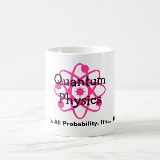 Quantum fysik kaffemugg