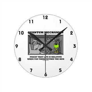 Quantum mekaniker preparerar att liv är släktingen rund klocka