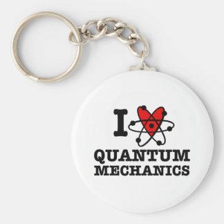 Quantum mekaniker rund nyckelring
