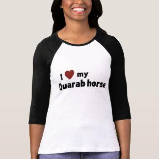 Quarab häst t-shirts