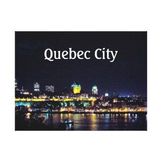 Quebec City Canvastryck