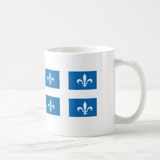 QUEBEC flagga Kaffemugg