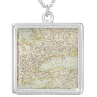 Quebec Ontario, Kanada Silverpläterat Halsband