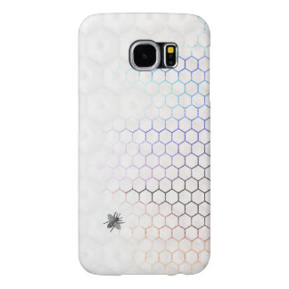 QueenBee i den Colorfull honungskakan Galaxy S5 Fodral