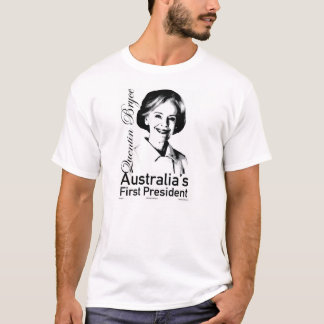 Quentin Bryce för president T-shirts