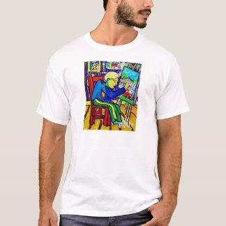 Quentin målning vid Piliero T Shirts