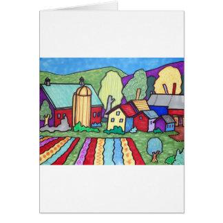 Quentins lantgård hälsningskort