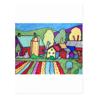 Quentins lantgård vykort