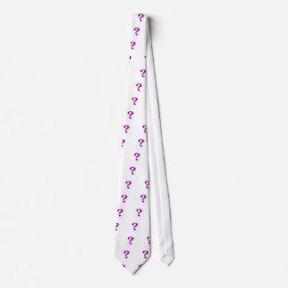 Question markerar slipsen slips