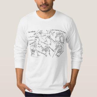 QUIXOTE I ÖVERSÄTTNINGEN Camiseta T-shirt