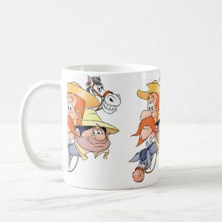 Quixote tecken vid @QUIXOTEdotTV Kaffemugg