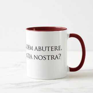 Quo usque, nolla-lector? mugg