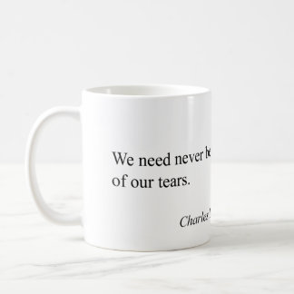 Quote Charles Dickens Kaffemugg