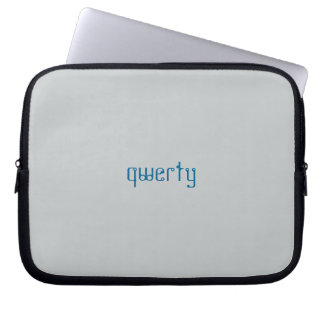 QWERTY laptop sleeve Laptop Datorskydd