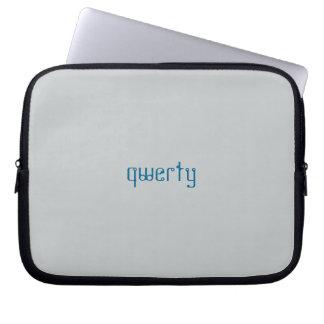 QWERTY laptop sleeve Laptop Datorskydd