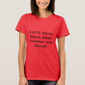 R.A.V.E. RÄDDINGkvinna T-tröja Tröja