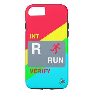 R är för mobilt fodral för springa (full design)