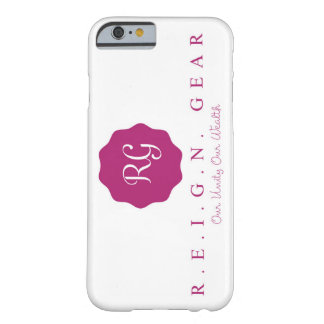 R.E.I.G.N. Utrusta det rena fodral för vitiPhonen Barely There iPhone 6 Skal