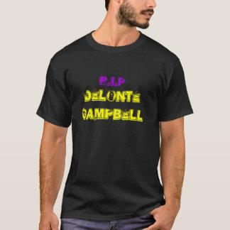 R.I.P Delonte Campbell Tee Shirt