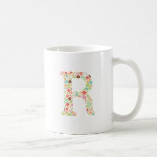 R-monogram Kaffemugg