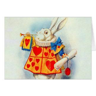 Rabbitten i Alice i underland~-kort OBS Kort