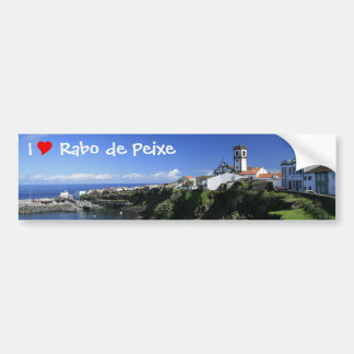 Rabo de Peixe - Azores Bildekal