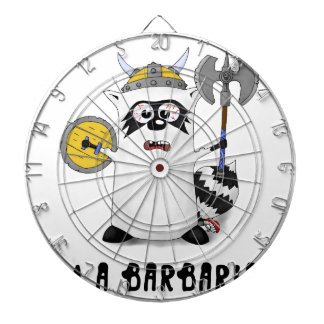 Raccoon: Mig förmiddag en barbar! Darttavla