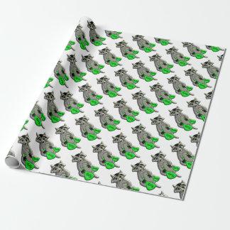 Raccoonen - ge mig pengar presentpapper