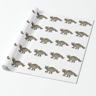 Raccoonen i sida profilerar presentpapper
