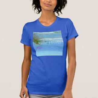 Racerback för blåtthavbris T-tröja T Shirt