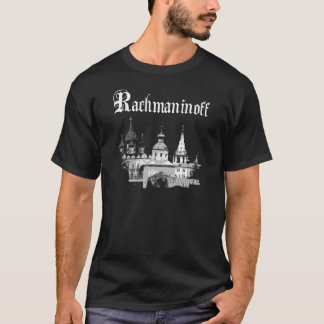 RACHMANINOFF specificerar Tshirts