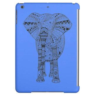 Räcka den illustrerade Artsy elefanten