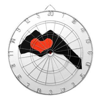 räcka heart2 darttavla